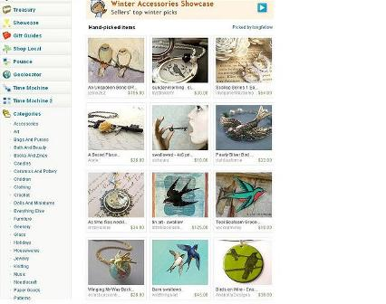 Etsy Front Page-Blog