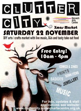 Cluttercity Poster Nov 08