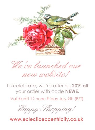 New website launch ad