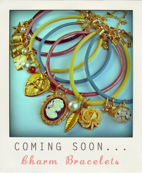 Charm bracelets promo