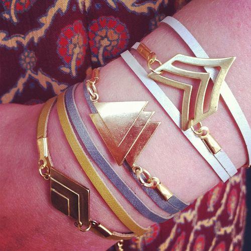 Maya bracelets