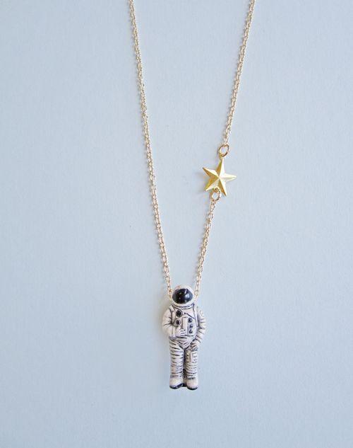 Astronaut necklace 2
