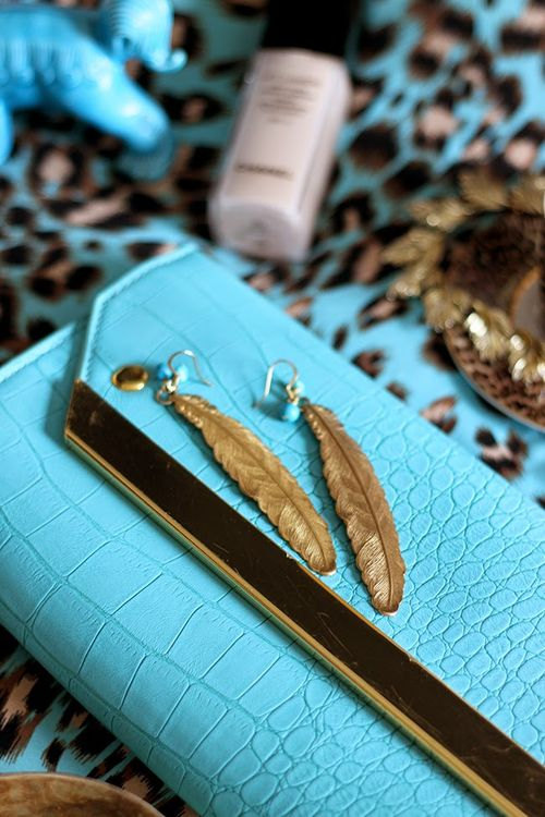 Turquoise and Leopard 2