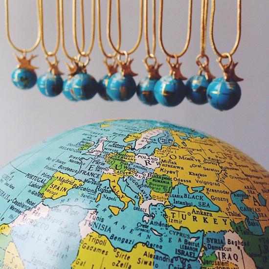 Winging globes