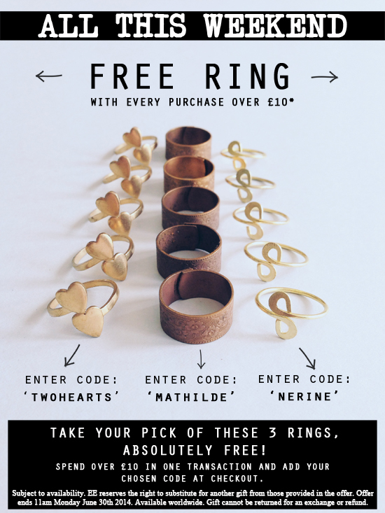 Final free ring offer june 2014