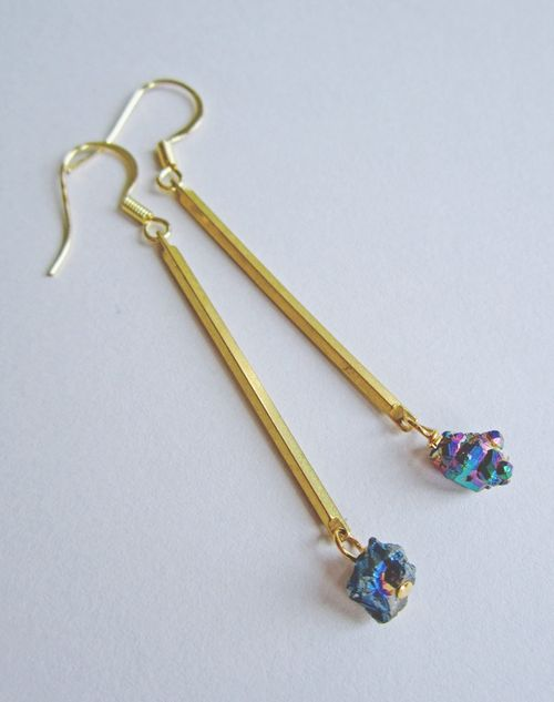 Titanium_quartz_earrings