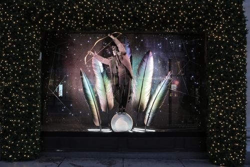Selfridges Christmas Windows 2015_Journey to the Stars_Zodiac Sagittarius_0