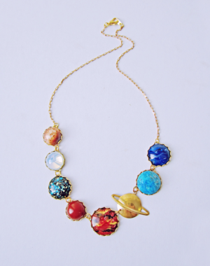 Solar System  necklace 2
