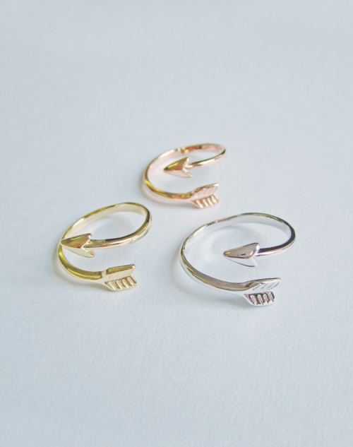 Stay true arrow ring 1