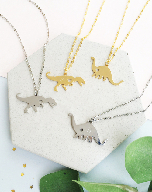 Dinosaur necklace 4