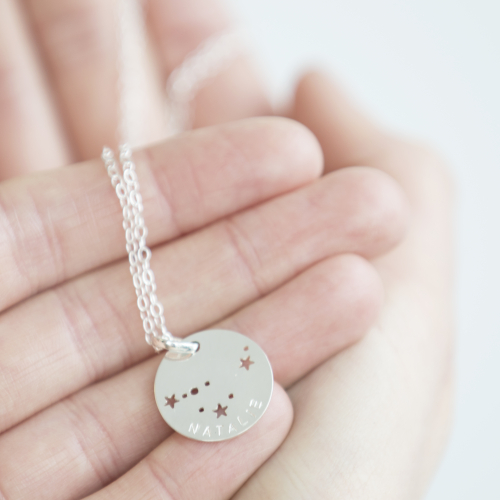 Starsign necklace 2